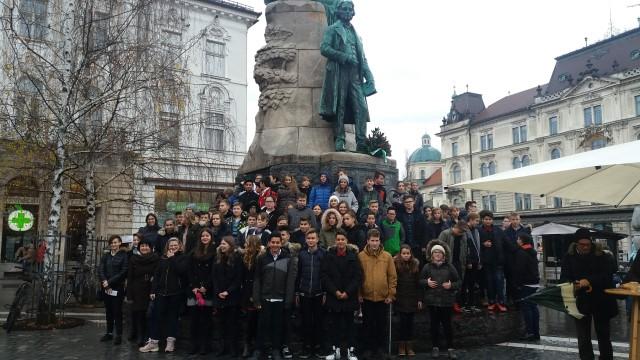 Učenci OŠ Sveti Jurij v Cankarjevem domu