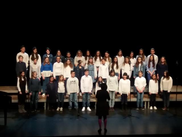 V četrtek, 29. 3. 2018, so mladi glasovi preplavili Gledališče Park