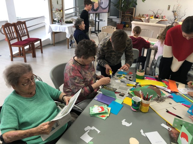 Ustvarjalnice v Domu starejših Elizabeta