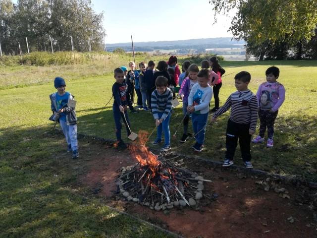 Športni dan in taborni ogenj