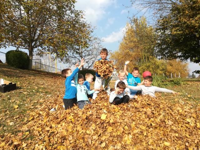 Grabljanje listja