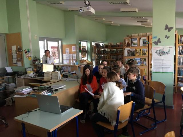 Skype konferenca s partnerskimi šolami