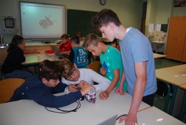 Tehniški dan v okviru Erasmus + projekta