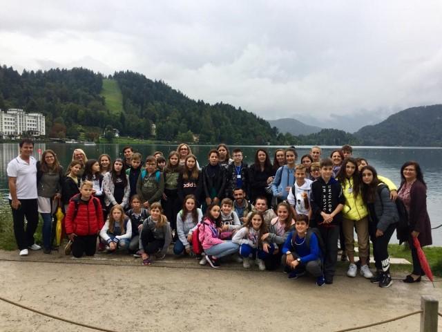 Z gosti Erasmus + projekta po Sloveniji
