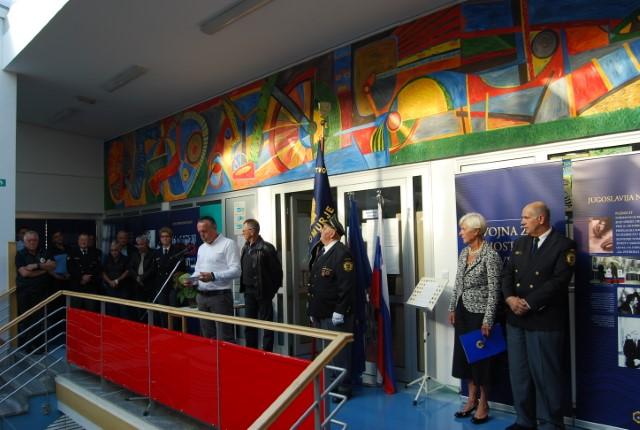 Otvoritev razstave Vojna za samostojno Slovenijo 1991