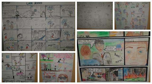 Rezultati šolskega stripovskega natečaja za šol. l. 2019/2020